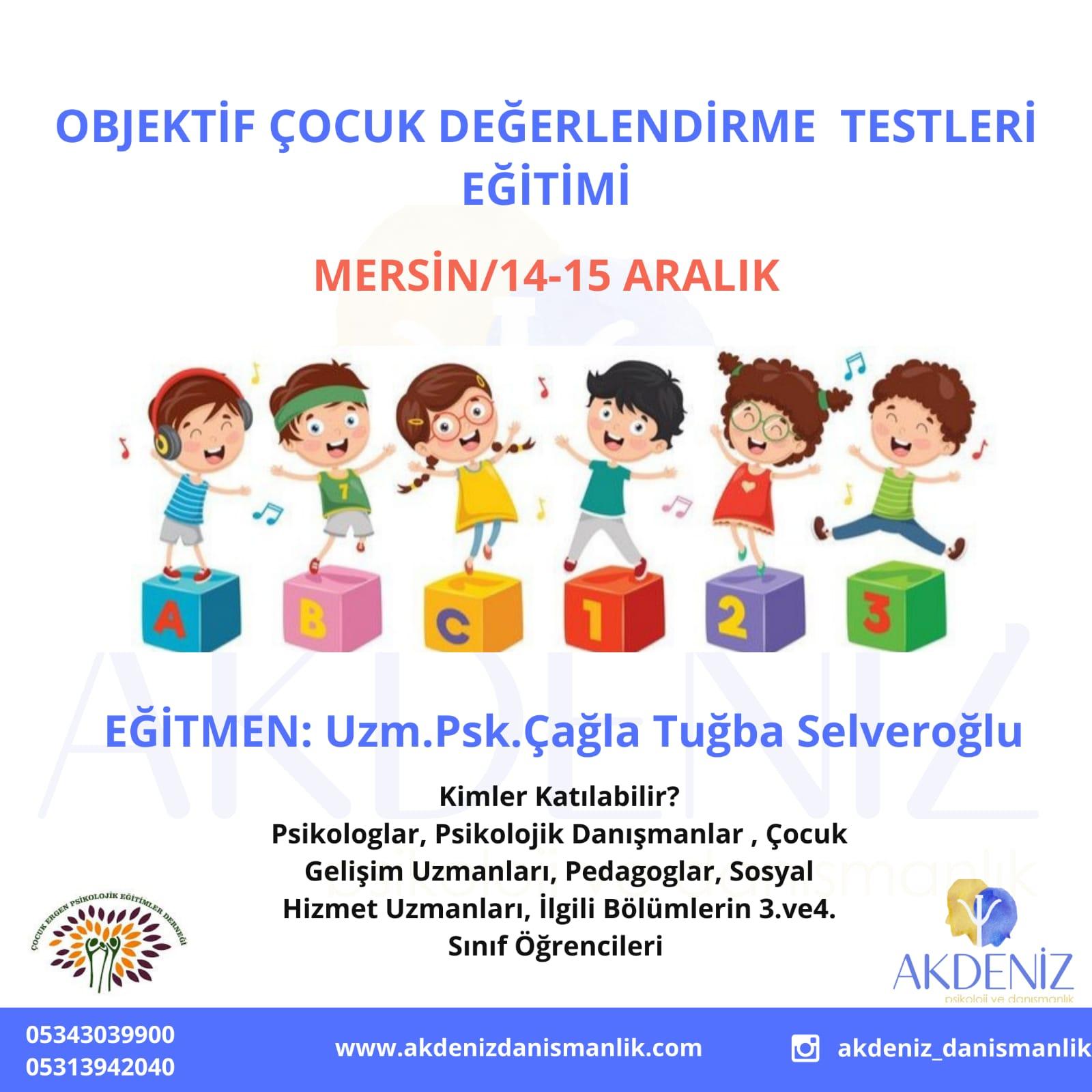 Objektif Çocuk Değerlendirme Testleri Eğitimi